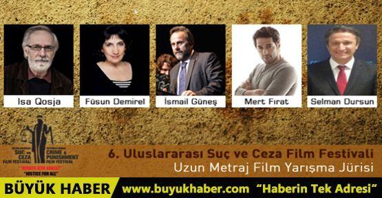 6. Uluslararası Suç ve Ceza Film festivali uzun metraj film jürisi belli oldu