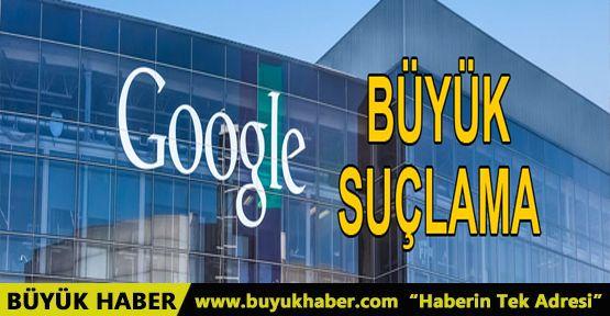 ABD'den Google'a 'ayrımcılık' suçlaması