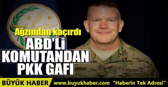 ABD'den skandal PKK açıklaması