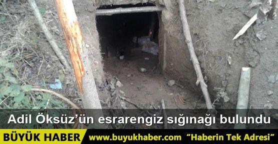Adil Öksüz'ün arandığı Akyazı'daki yaylada sığınak bulundu
