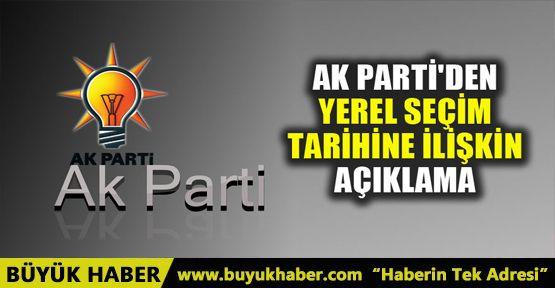 AK Parti Genel Başkan Yardımcısı Ahmet Sorgun yerel seçim tarihini açıkladı