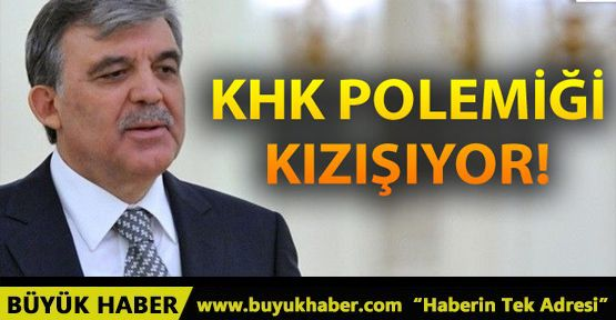 AK Parti'den son dakika Abdullah Gül'e KHK yanıtı