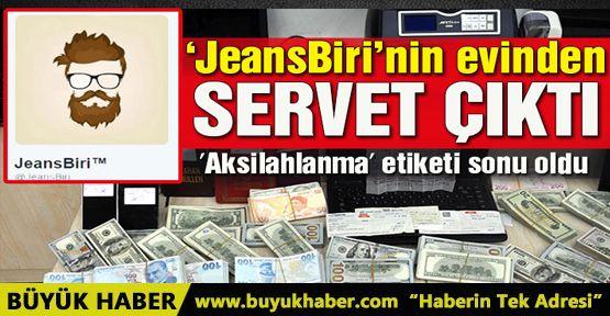 'Aksilahlanma' etiketini açan Twitter kullanıcısının evinde FETÖ'nün paraları çıktı