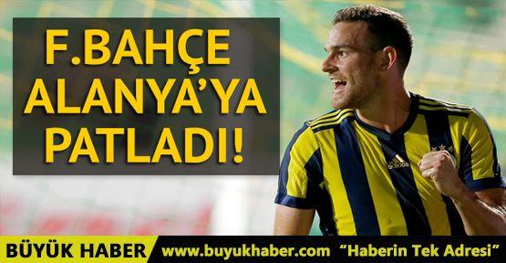 Alanyaspor 1-4 Fenerbahçe (Maçın geniş özeti)
