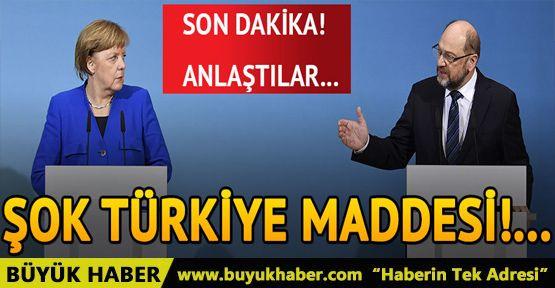 Almanya'da koalisyon görüşmesinde kritik 'Türkiye maddesi'