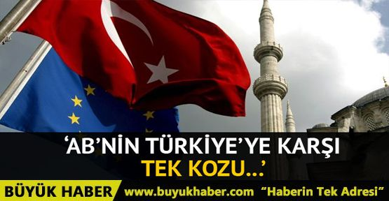 AP Raportörü Kati Piri: AB'nin Türkiye'ye karşı tek kozu ekonomik