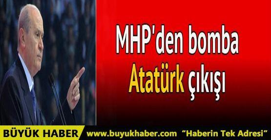 Atatürk'ün partisinin devamı MHP'dir