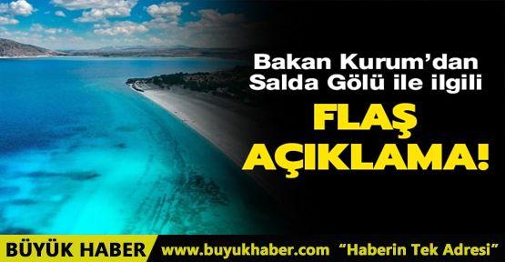 Bakan Kurum'dan son dakika Salda Gölü açıklaması: Hiçbir yapılaşma olmayacak