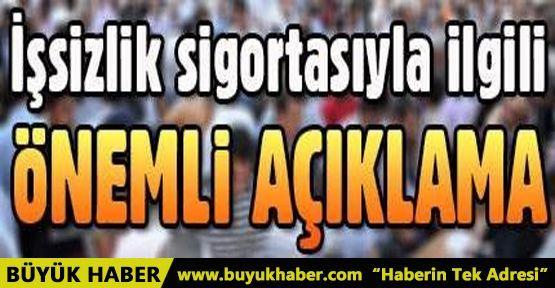 Bakan Sarıeroğlu'ndan işsizlik sigortası ile ilgili açıklama