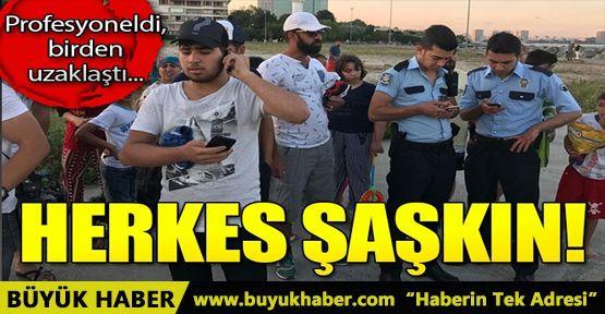 Bakırköy'de serinlemek için denize giren bir kişi kayboldu