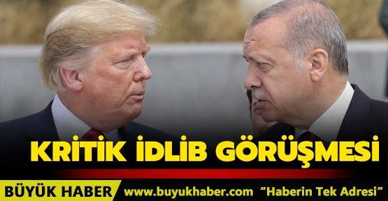 Başkan Erdoğan ile Trump arasında kritik görüşme: İdlib'de iş birliği vurgusu