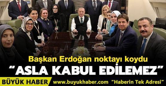 Başkan Erdoğan: Plan barışa hizmet etmeyecek, Kudüs İsrail'e verilemez