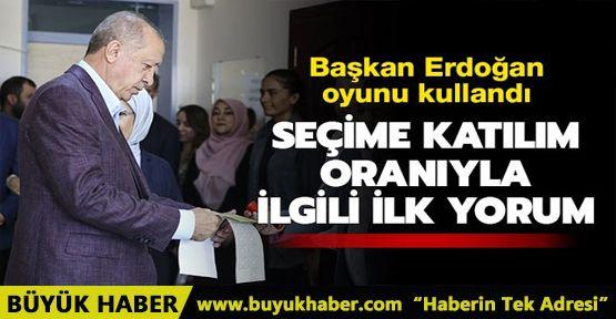 Başkan Erdoğan: Seçmen en isabetli kararı verecektir