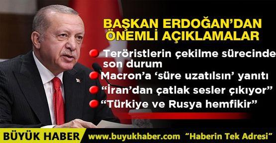 Başkan Erdoğan'dan Rusya ziyareti öncesi önemli açıklamalar