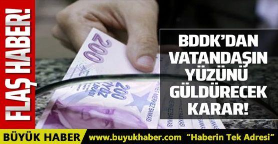 BDDK'dan kredi ödeme açıklaması!