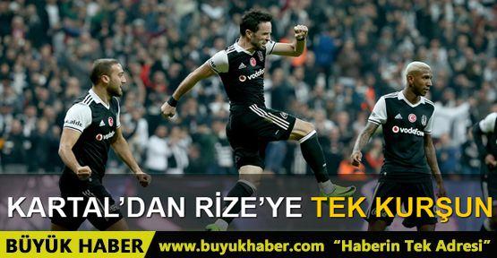Beşiktaş 1 - 0 Çaykur Rizespor