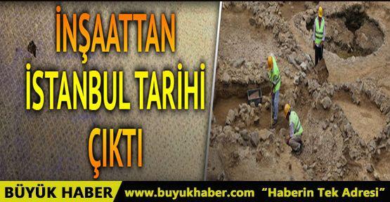 Beşiktaş metro inşaatından İstanbul tarihi çıktı
