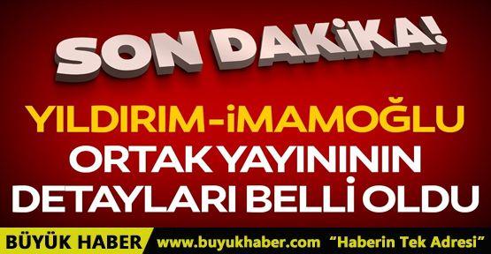 Binali Yıldırım Ekrem İmamoğlu ortak yayını için iki parti açıklama yaptı!