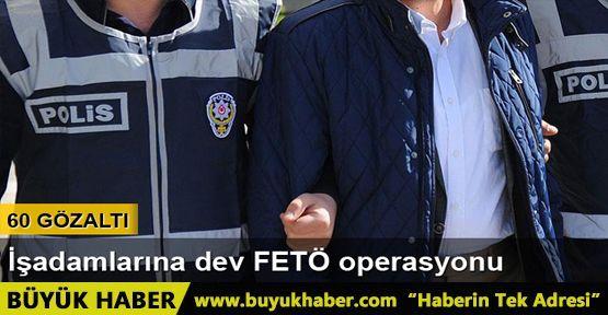 Bolu'da FETÖ operasyonu: 60 gözaltı
