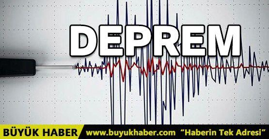 Çankırı'da 4.7 büyüklüğünde deprem