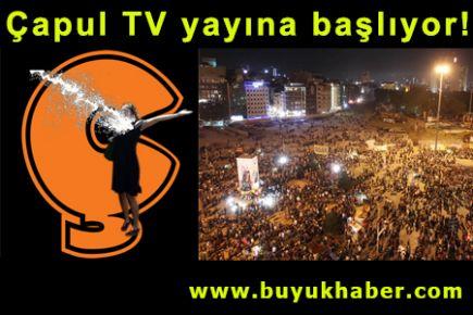 Çapul TV yayına başlıyor!