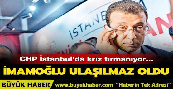 CHP İstanbul'da İmamoğlu Krizi
