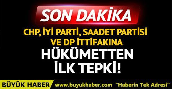 CHP, İYİ Parti, SP ve DP ittifakına peş peşe tepkiler