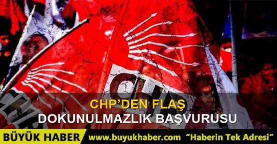 """CHP'li Tanrıkulu'dan Anayasa Mahkemesi'ne """"Dokunulmazlık"""" Başvurusu"""