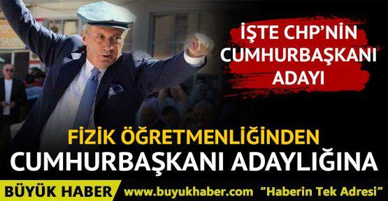 CHP'nin Cumhurbaşkanı adayı Muharrem İnce kimdir?