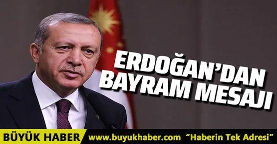 Cumhurbaşkanı Erdoğan bayram mesajı paylaştı!