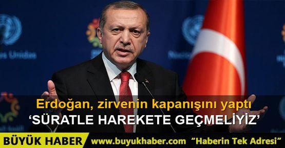 Cumhurbaşkanı Erdoğan: Bu, adil dünya değildir