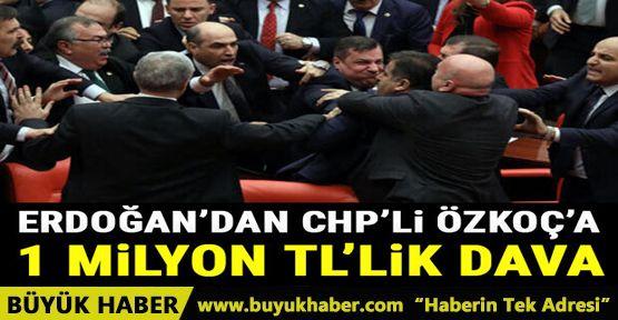 Cumhurbaşkanı Erdoğan'dan CHP'li Engin Özkoç'a 1 milyon TL'lik manevi tazminat davası!