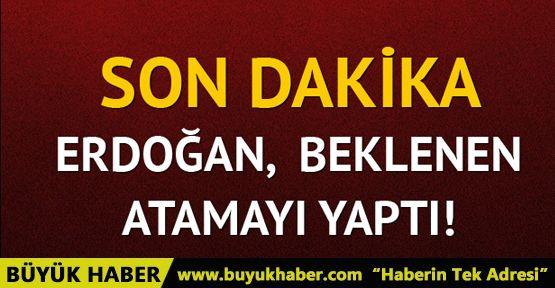 Cumhurbaşkanı Erdoğan'dan HSK'ya atama!