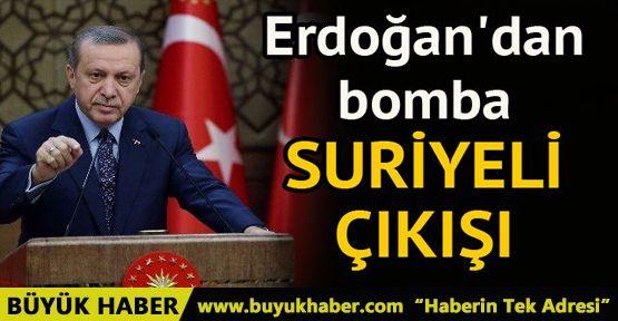 Cumhurbaşkanı Erdoğan'dan Suriyeli açıklaması: 3.5 milyonu saklayacak halimiz yok