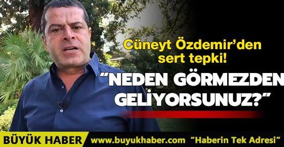 Cüneyt Özdemir'den sert tepki: Neden görmezden geliyorsunuz?