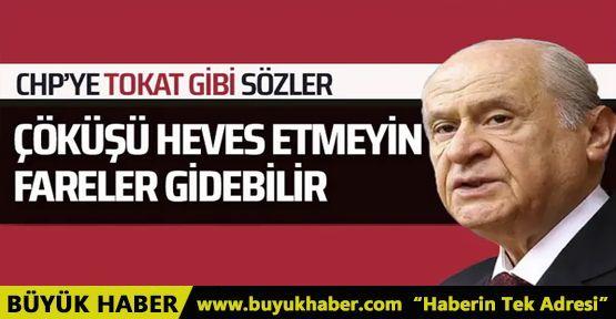 Devlet Bahçeli CHP'ye sert sözlerle yüklendi!
