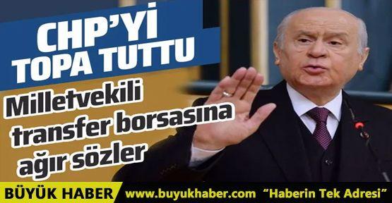 Devlet Bahçeli CHP'yi topa tuttu!