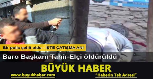 Diyarbakır'da çatışma: İHA'ya göre Tahir Elçi hayatını kaybetti