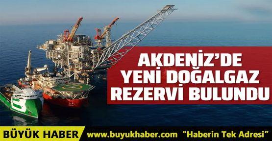 Doğu Akdeniz'de yeni bir doğal gaz rezervi bulundu