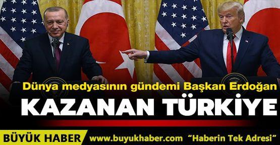 Dünya medyasının gündemi Başkan Erdoğan: Kazanan Türkiye