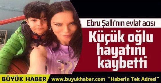 Ebru Şallı'yı kahreden haber! 8 yaşındaki oğlu Pars hayatını kaybetti