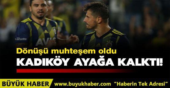 Emre Belözoğlu, Kadıköy'ü ayağa kaldırdı