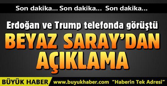 Erdoğan ve Trump görüştü! Beyaz Saray'dan görüşmeye ilişkin açıklama