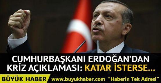 Erdoğan'dan Katar açıklaması: Üssü kapatabiliriz