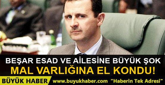 Esad'ın İspanya'daki mal varlığına el kondu