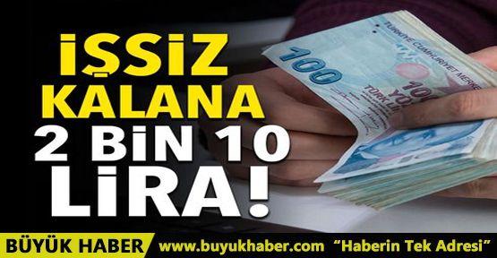 Esnafa 2 bin 10 lira işsizlik maaşı