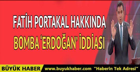 Fatih Portakal hakkında bomba 'Erdoğan' iddiası
