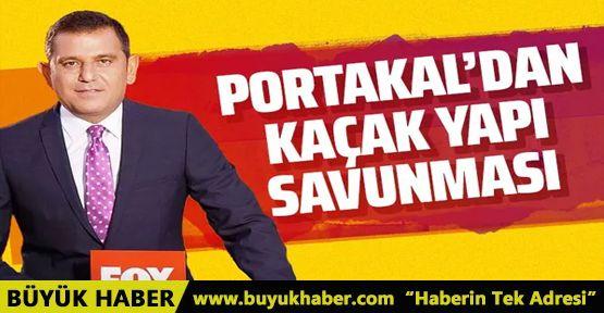 Fatih Portakal'dan İzmir'deki çiftlik evi için kaçak yapı savunması!