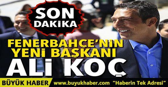 Fenerbahçe'nin yeni başkanı Ali Koç