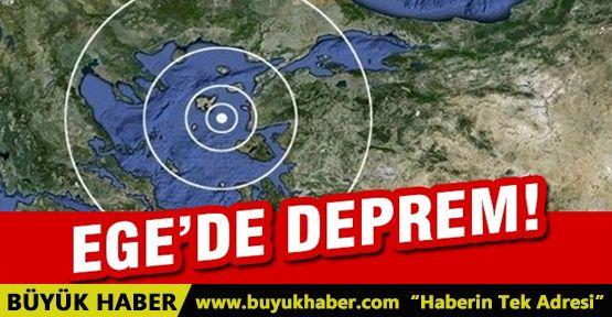 #Flaş! Ege'de deprem!